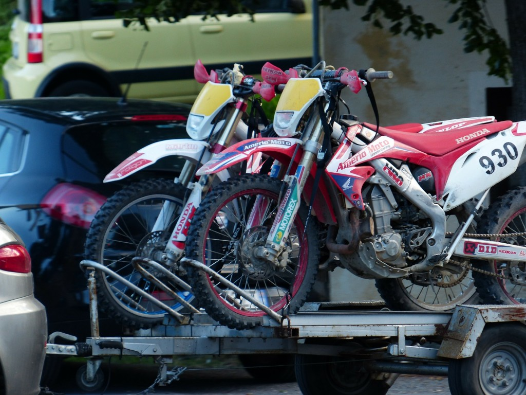 Whether you're moving motocross bikes or a classic Harley, trailers are a popular means of getting motorcycles from Point A to Point B.